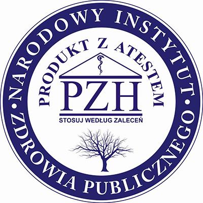 Atest PZH Narodowego Instytutu Zdrowia Publicznego